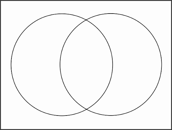 Blank Venn Diagram Template Word 2010 Format Download
