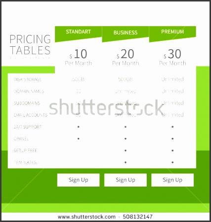 parison Chart Stock RoyaltyFree Vectors