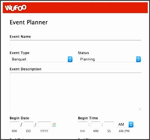 event planning form template wufoo blog top 5 event registration form templates