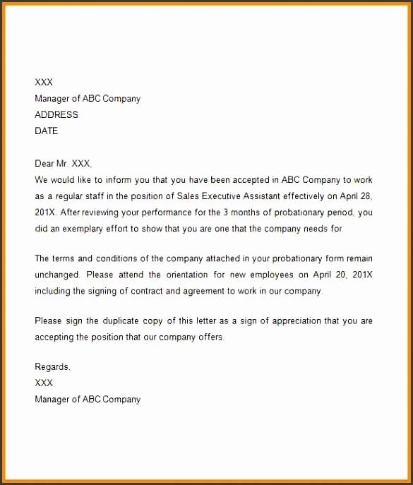 confirmation letter sample Confirmation Letter Sample1