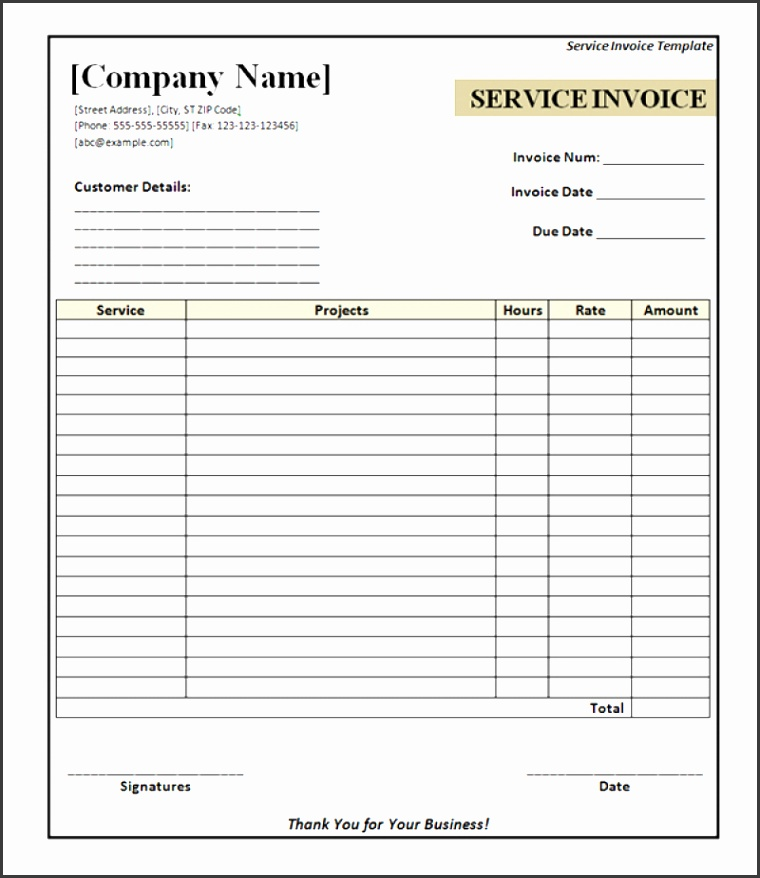 Free Printable Contractor Invoice Template Free Printable Contractor Invoice Template Luxerealtyco Download