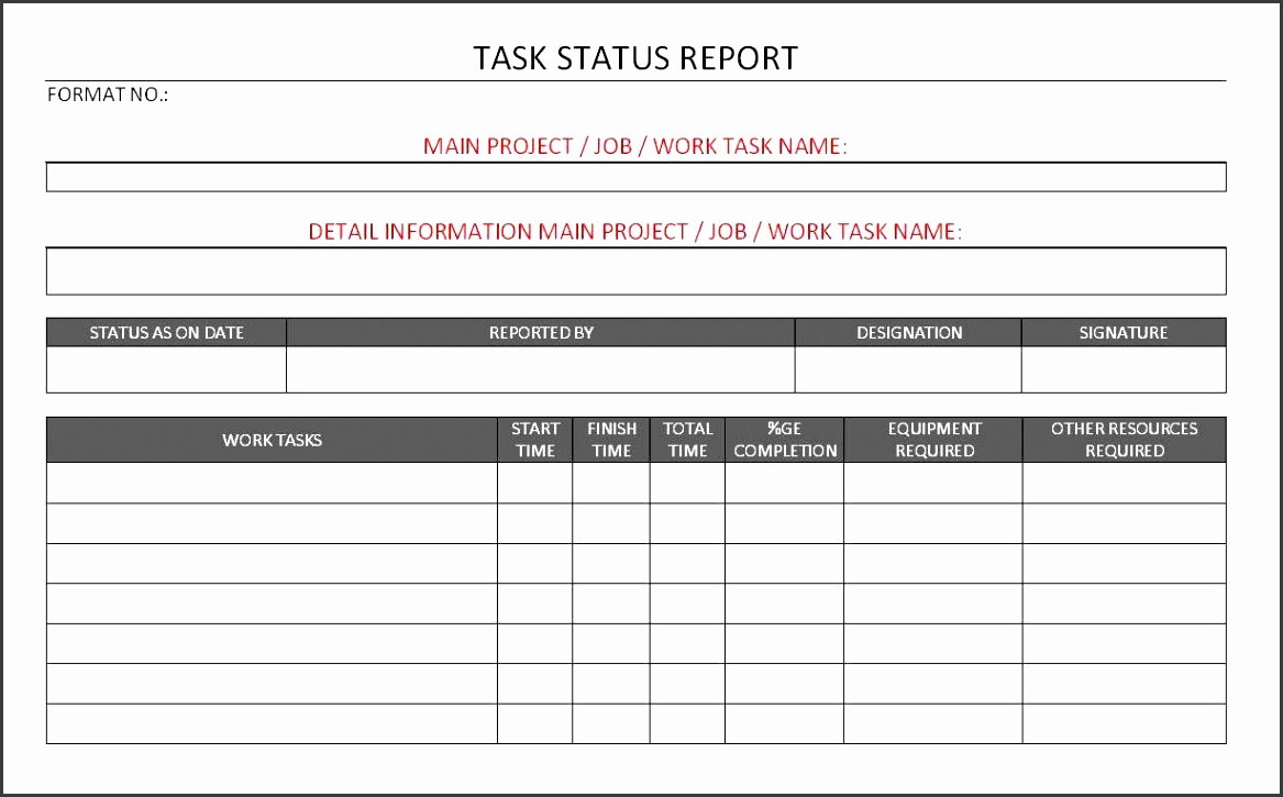 Weekly Construction Progress Report Sample And Construction Project Progress Report Template Excel