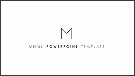 Make a Positive Impression with this Clean and Strong Powerpoint Template With MNML you have everything you need for a powerfull and convincing