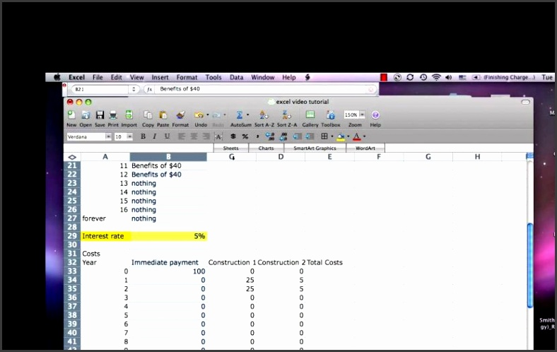 Excel Cost Benefit Tutorial Mp4 Youtube Analysis Template Maxresde Cost Analysis Spreadsheet Excel Spreadsheet