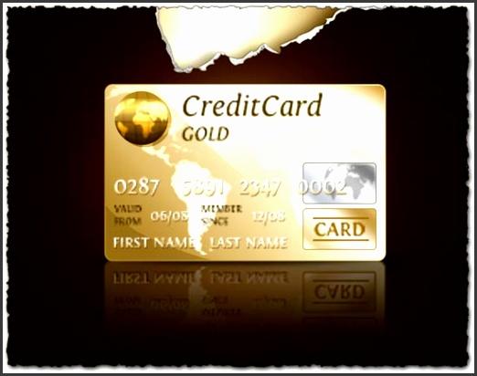 shop Credit Cards templates