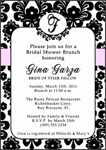 Free Printable Damask Wedding Invitations