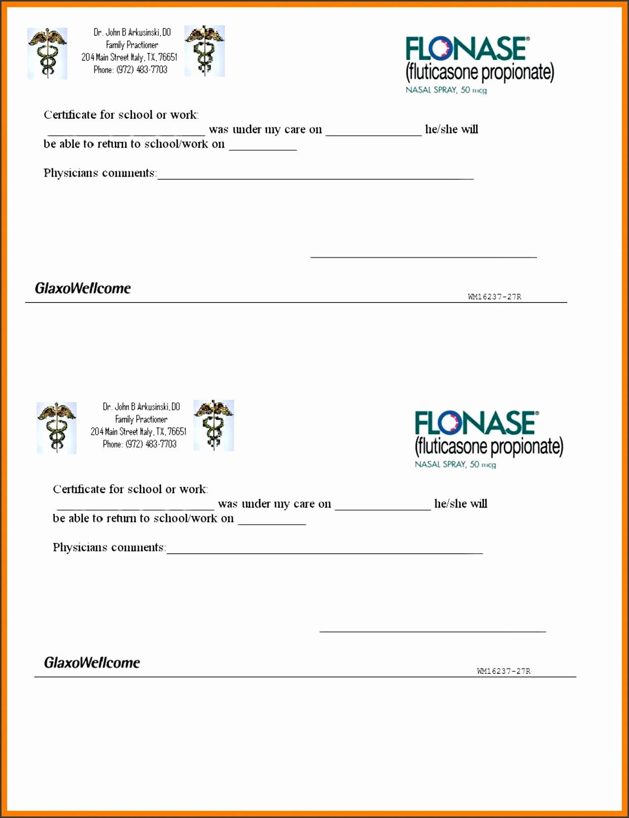 fake doctors excuse template dentist note for school