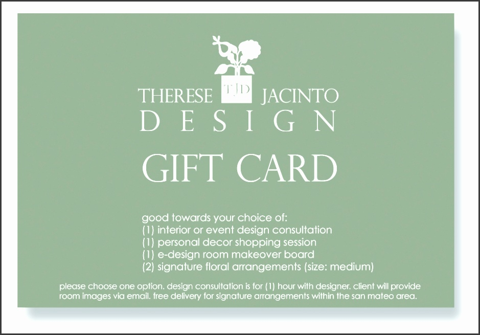 Interior Design Gift Certificate give and live in style craft and couture Interior Window Molding Ideas