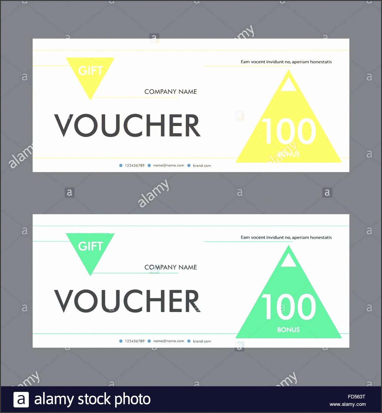 Template design t voucher with triangular elements Beautiful design certificate