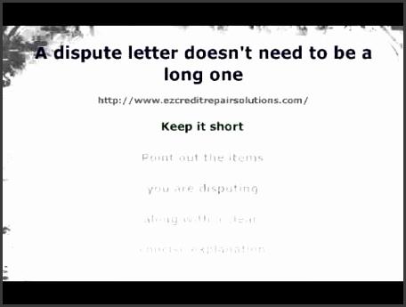 Debt Letter Template