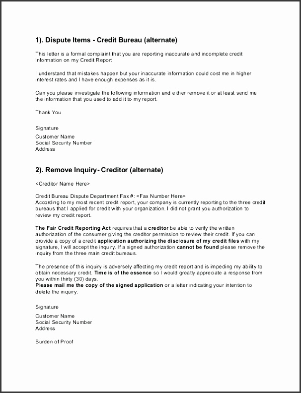 credit dispute letter dispute letter 2 2 credit dispute letter template experian