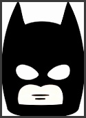 HD wallpapers diy batman mask template