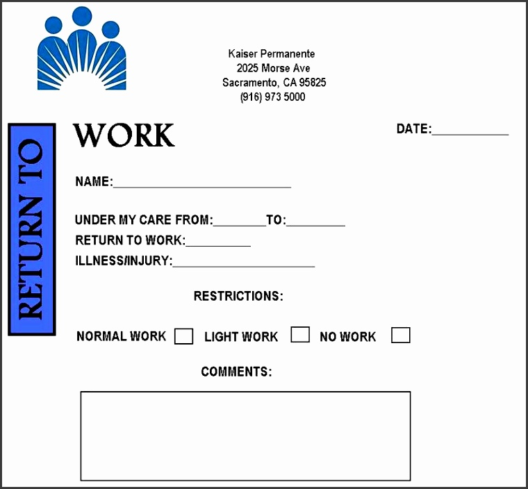 free fake doctors note template obtain