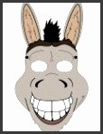 6 Best of Printable Donkey Mask Donkey Face Mask Template Printable Donkey Face Mask Template Printable and Printable Donkey Mask Template