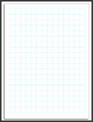 half inch printable graph