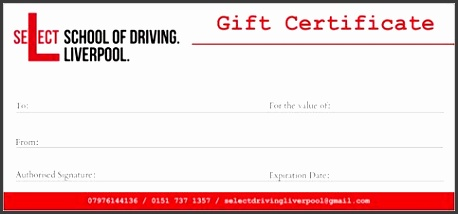 Driving lessons are only available to those who hold a valid UK provisional driving licence