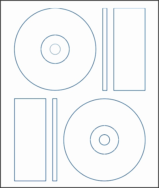 avery cd templates