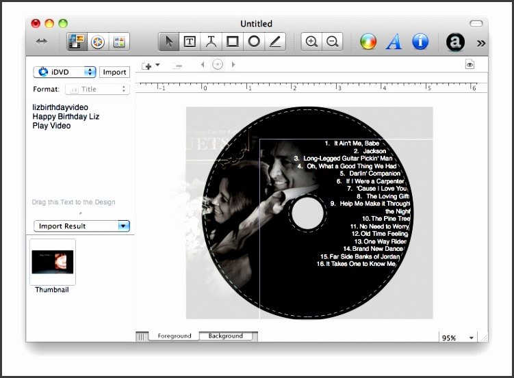 Disc Cover 2 – Mac CD and DVD Label Maker