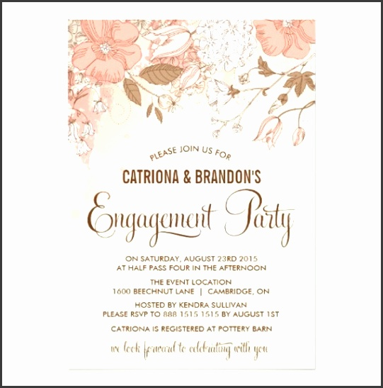 Engagement Party Invitation Templates By Way Using An Impressive Design Concept For Your Prepossessing Party Invitation Templates 10