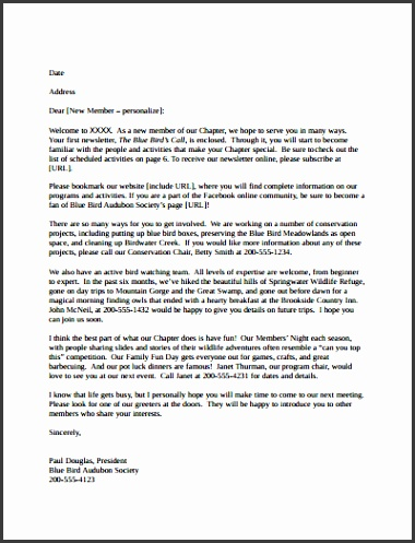 Wel e Letter Template Free Download Create Edit Fill and Print