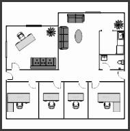fice Building Floor Plan