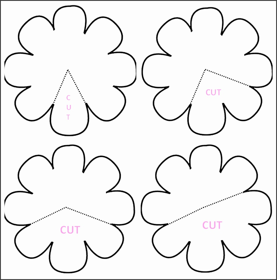 painting templates for kids free printable flower stencil templates