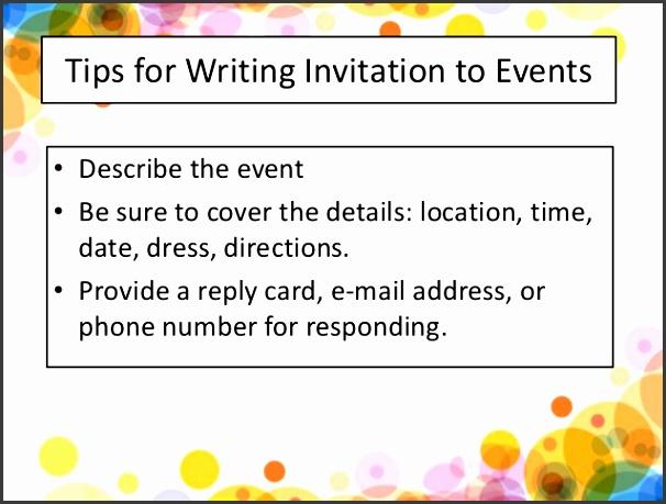 12 REPLIES TO INVITATIONS FORMAL REPLY INFORMAL