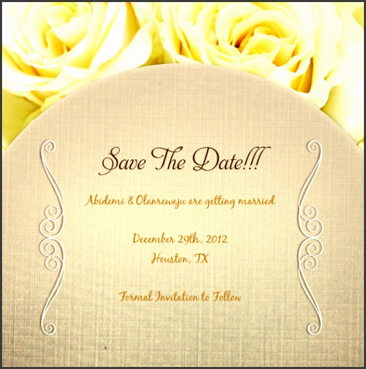 Save The Date Abidemi & Olanrewaju are ting married December 29th
