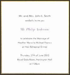 official invitation card format