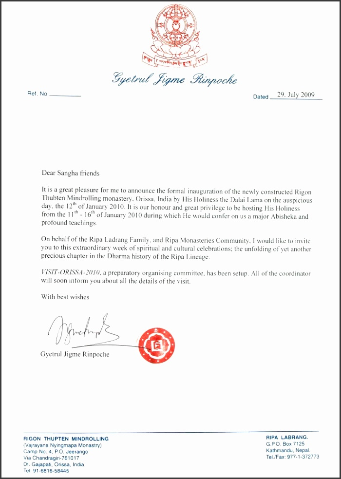 Epic ficial Invitation Letter Example for event for Sample Invitation Letters Writing Professional Letters