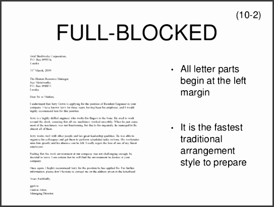 Best Ideas Resume Letter Meaning Brilliant Meaning Semi Block Style Letter of Meaning