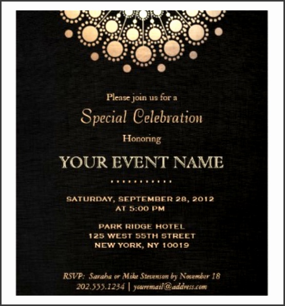 Formal Event Invitation Template Invitation Template 37 Free Printable Word Pdf Psd Publisher Download