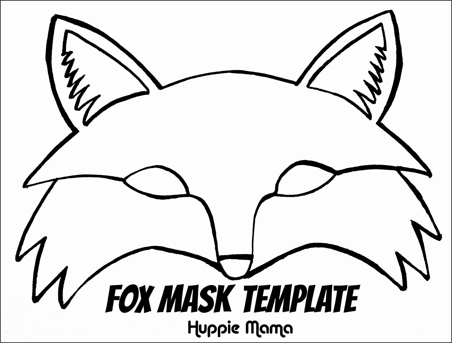 1899x1424 Printable Animal Masks Templates Free Sample Templates