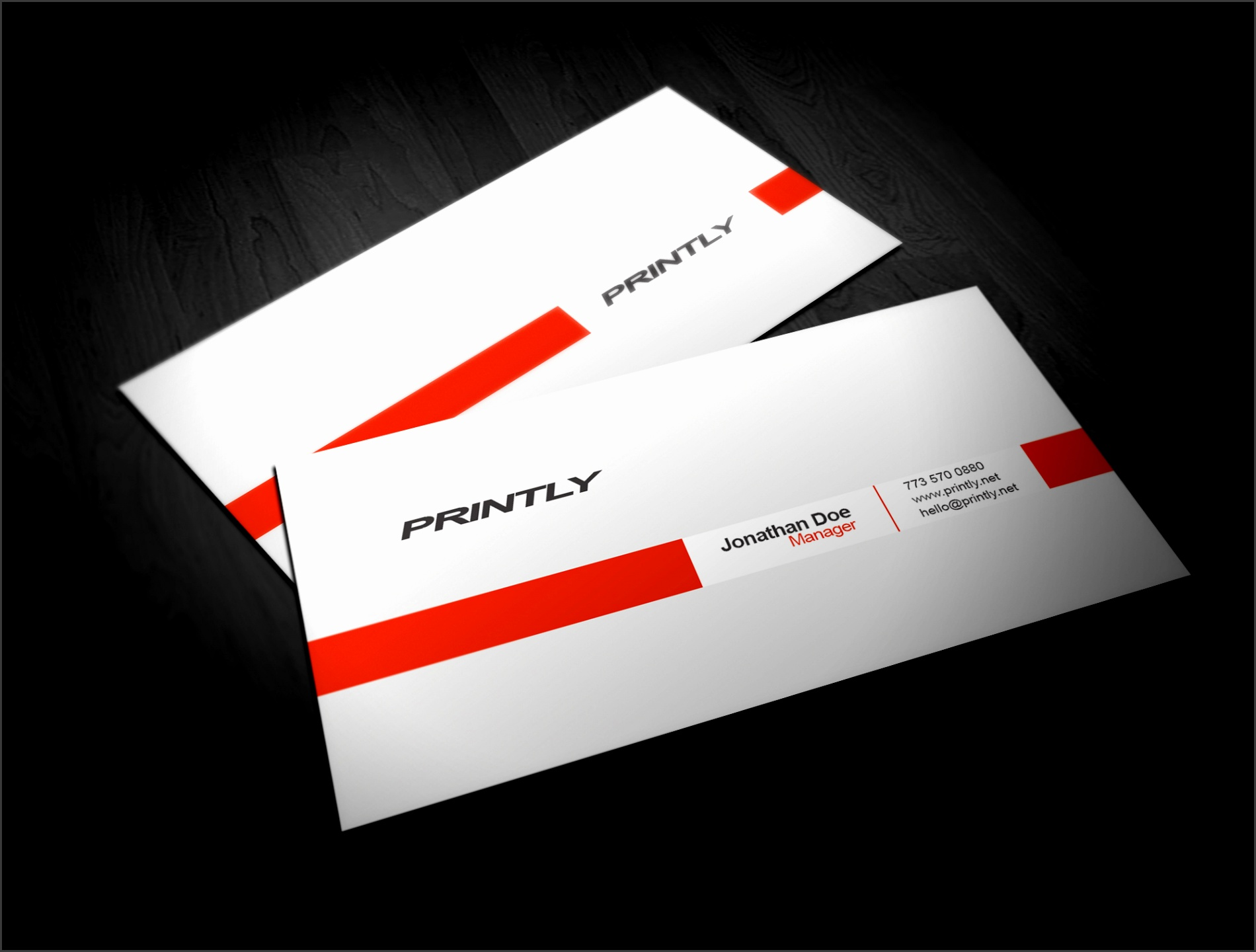 Free Blank Business Card Templates 1
