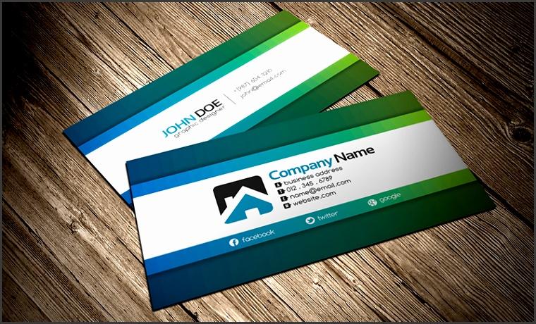 CV creative business card template