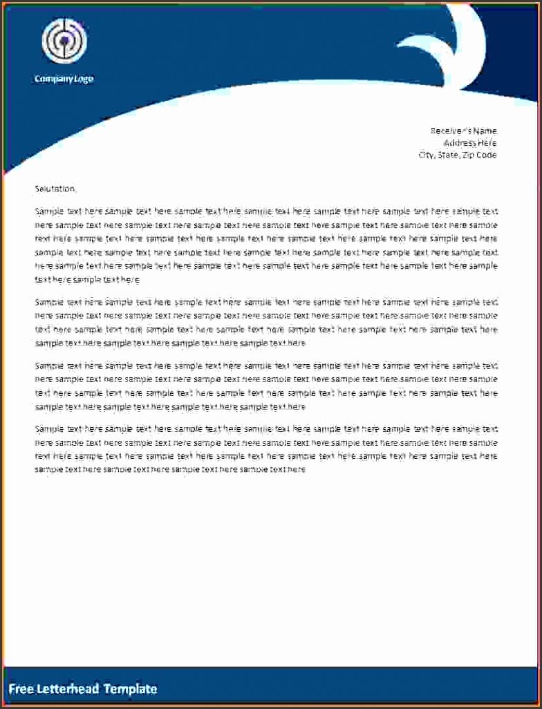 Free Business Letterhead Templates Free Letterhead Template …