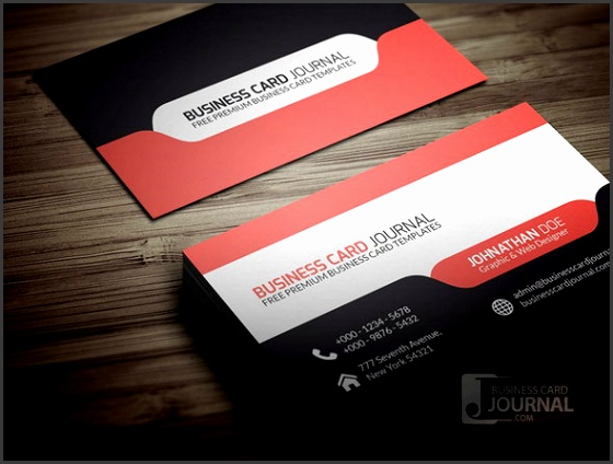 Design Business Card Template PSD