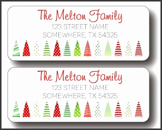 Christmas Return Address Label Red Address Label Flying Santa intended for Free Christmas Return Address Labels
