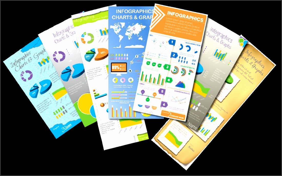 7 PowerPoint Infographic Templates by Visual Contenting