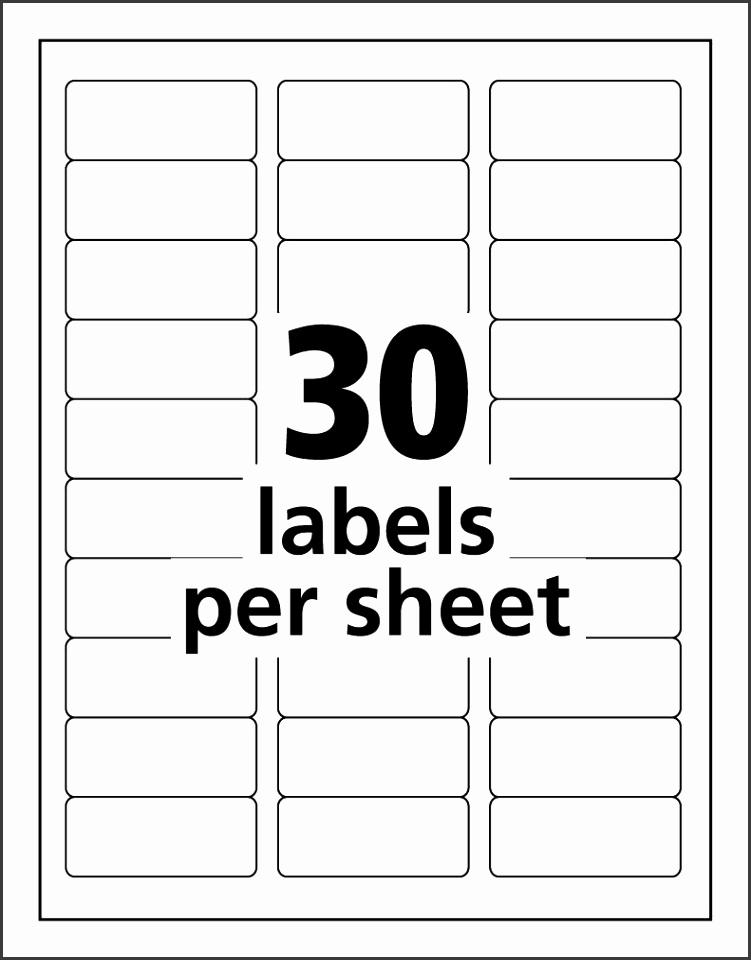 30 per sheets