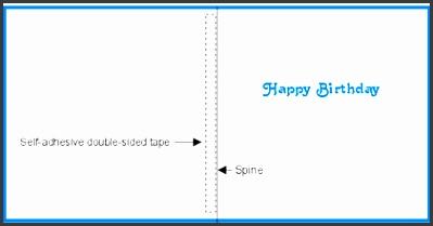 birthday insert