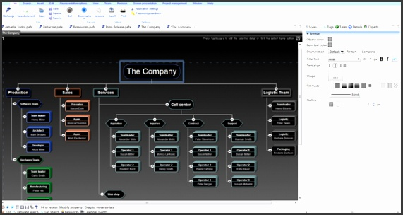 it also supports block diagrams to create org charts with up to 6 levels Freeware