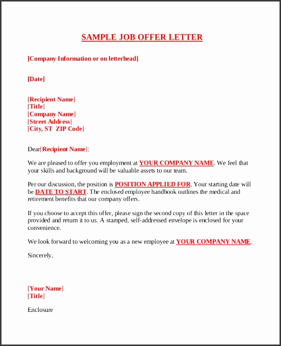 pany offer letter template free word pdf format invoice example pdf