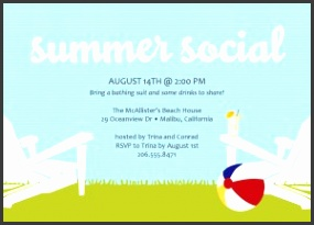 summer party invitation templates free template Party invitations