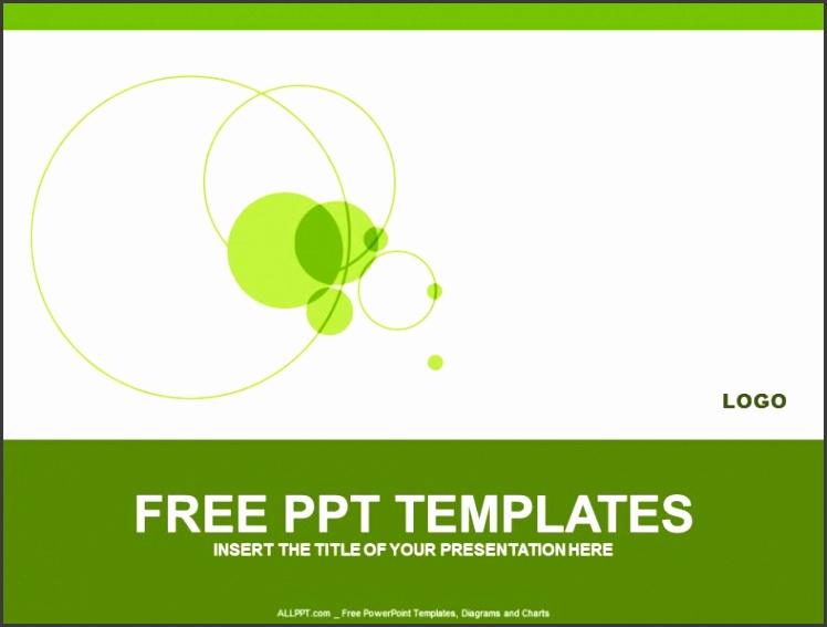 Green Circle PowerPoint Templates Design