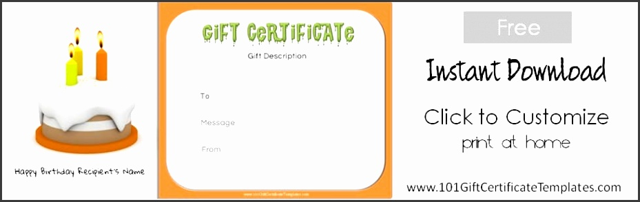 free printable t certificate templates Happy birthday t voucher Gift certificate maker