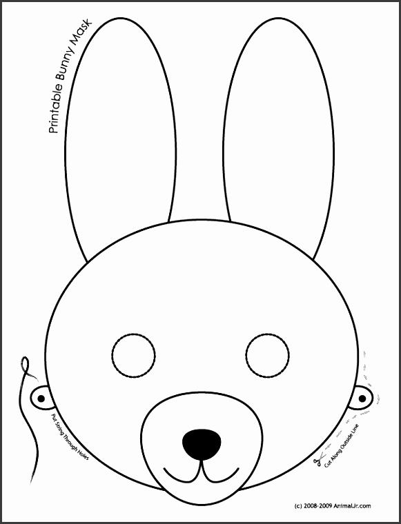 Animal Mask Templates Printable Jungle Masks Free Printable