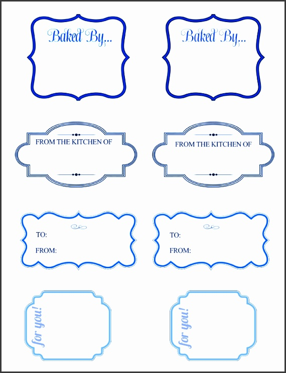 blue baking t tags