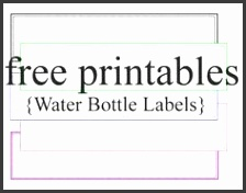 Free Blank Water Bottle Label Template Download Wl 7000 Template throughout Printable Water Bottle