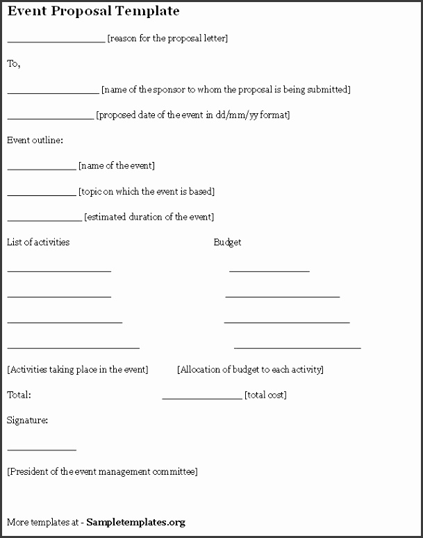 Formal Proposal Template Business Proposal Template 18 30 with Free Project Proposal Template Proposal